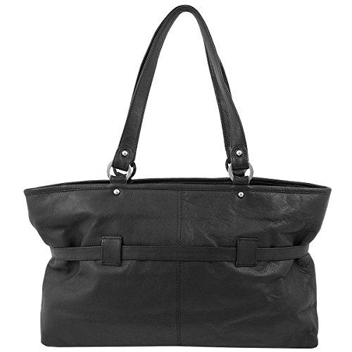GREENLAND High Class Nappa Leder Shopper Handtasche Henkeltasche Schultertasche 1639-20