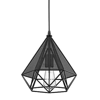 YOBO Lighting Polygon Art Deco Vintage Wire Pendant Kitchen Island Chandelier