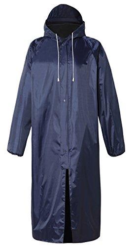 Unisex Rainwear (Cheering Unisex Rain Coat for Mens Rainwear Waterproof Rain Jacket I Long Sleeve Raincoat Black)