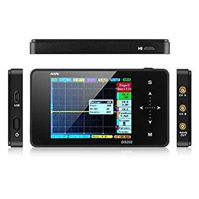 Signstek 2016 New Upgrade Version Nano ARM DS202 Portable Mini Handheld Touch Screen Digital Storage Oscilloscope