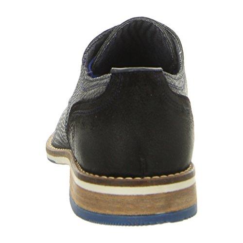 BULLBOXER 773k24783ap475 - Zapatos de cordones de Piel para hombre, color azul, talla 41