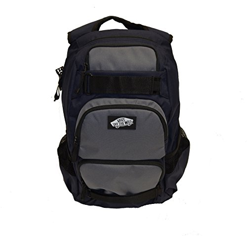 Vans Men's Backpack Skate Bag Treflip Navy Black Grey VN-0OKI9A0 School Bag