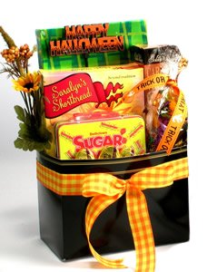 Halloween Gift Basket for the Whole Family