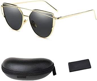 WISH CLUB Women Sunglasses UV400, With Box And Cleaner