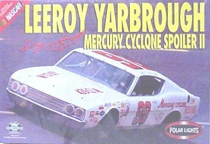Cyclone Spoiler - Polar Lights #6604 - Leeroy Yarbrough Mercury Cyclone Spoiler Ii