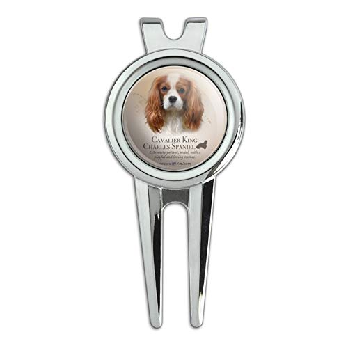 GRAPHICS & MORE Cavalier King Charles Spaniel Dog Breed Golf Divot Repair Tool and Ball Marker