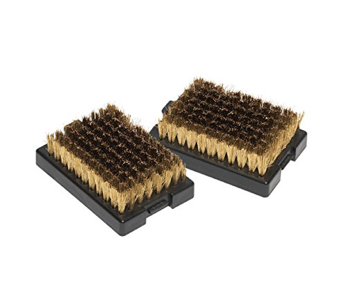 Outdoorchef Barbecue Cleaning Brush Replacement Brush Heads, 2 Piece, 12 x 5 x 21.1 cm 14.421.25