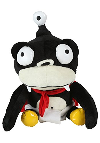 Fun Costumes Futurama Nibbler Purse Standard Black -