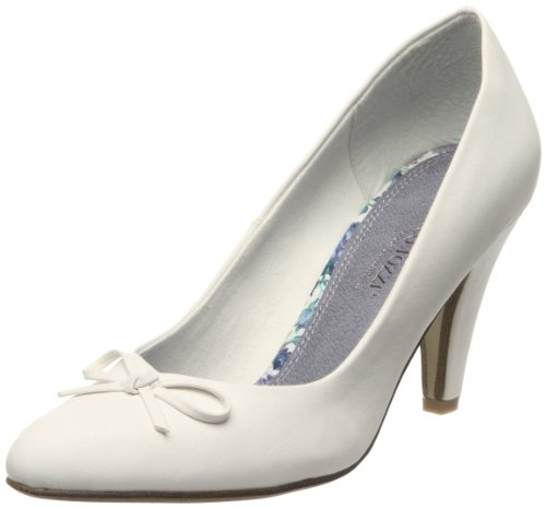 28 Marco vestir Blanco 2 Zapatos 2 Tozzi 22412 para 2 mujer de 28 22412 2 qBaFB4