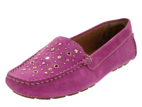 Clarks Womens Dunbar Hamden Mocassins & Slip-ons Chaussure Fuchsia