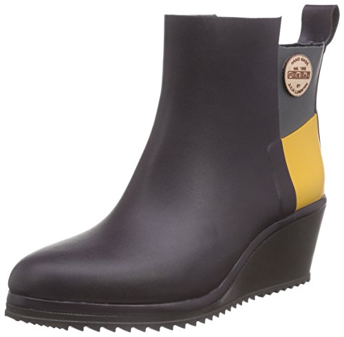 Nokian Footwear Julia Lundsten - Wellington Boots -Ankle Wedge- (Originals) [AW132] Blueberry