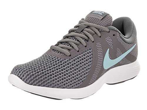 Nike Revolution Shoe 4 Women's Bliss dark Grey Gunsmoke Ocean Running r5Irq