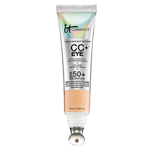 (It Cosmetics CC+ Eye Color Correcting Concealer SPF 50+, LIGHT    )
