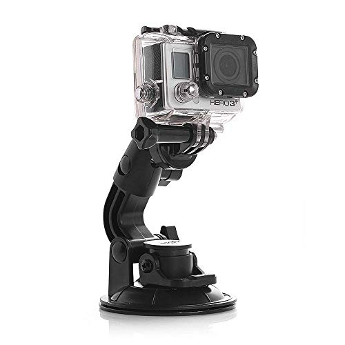 NEOHOOK Suction Cup Mount Compatible for Go Pro Max/Go Pro Hero 8/7/6/5/4/3+/3/Session/GO PRO Hero 2018/ DJI OSMO Action Camera Price & Reviews