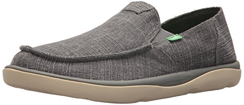 Tripper Grain Vagabond Charcoal Sanuk Slub Men's Loafer SLUB Hq1nwR6O