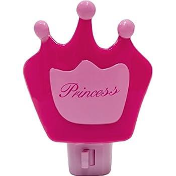 Disney Princess Night Light Pink Cinderella Belle Snow