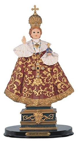 StealStreet SS-G-312.37 Infant of Prague Holy Child Religious Figurine Statue Decor, 12""