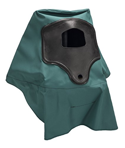 MSA 486329 Hood Assembly for Abrasi-Blast Supplied Air Respirator, Knit-Back, Should