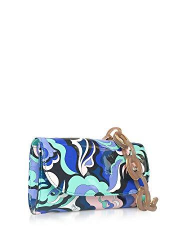 Pucci Spalla Pelle Donna A Emilio Borsa Blu 8rsd208r021062 HdSqHA8