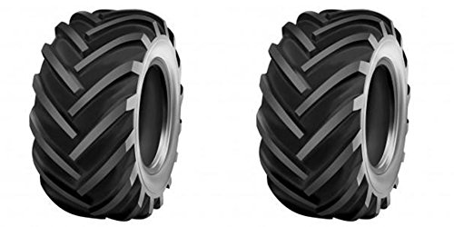 12 Mower (TWO 26X12.00-12 26x12-12 DEESTONE D408 Industrial/ Utilty Lug Tires 10 ply Rated Heavy Duty)