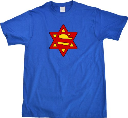 Super Jew | Funny Hebrew Hannakuh Hero Humor Unisex T-shirt