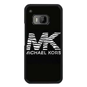 Michael Kors Logo Phone Case Classic Black Luxury Series Design Case Cover for Htc One M9