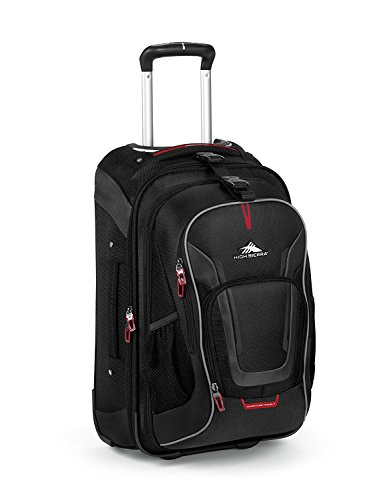 High Sierra AT7 22'' Outdoor Rolling Backpack (One size, Black) by High Sierra
