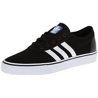 adidas Men's Adiease Sneakers, Black/White/Black, (5.5 M US)
