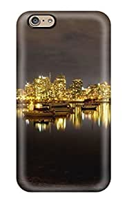 New ZFToUpo7808zhocj False Creek At Night Tpu Cover Case For Iphone 6