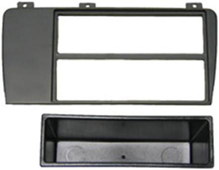 Autoleads FP-10-06 Adaptateur de fa/çade dautoradio Single DIN pour Volvo S60 V70 Noir