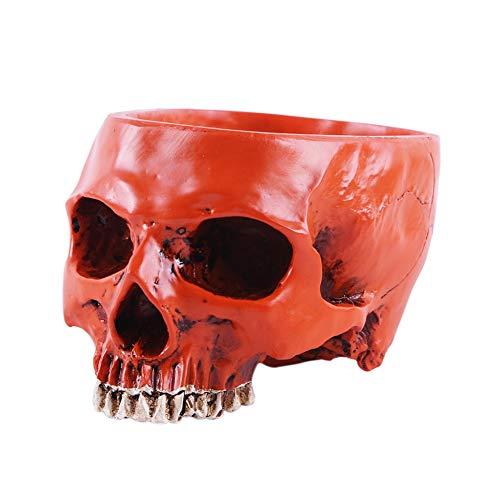 Peyan Halloween Horror Simulation Skull Head Resin Desk