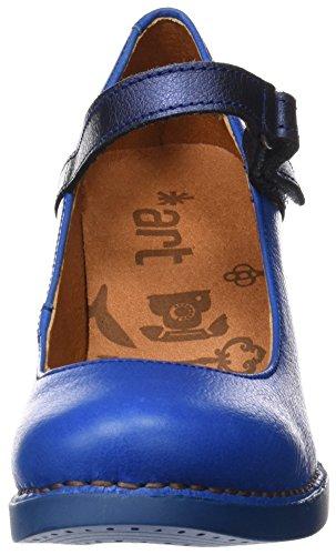 Art Damen 0933 Memphis Harlem Pumps Blau (mare)