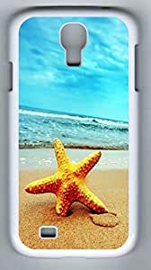 Starfish Hard Cover Back Case For Samsung Galaxy S4,PC White Case for Samsung Galaxy S4