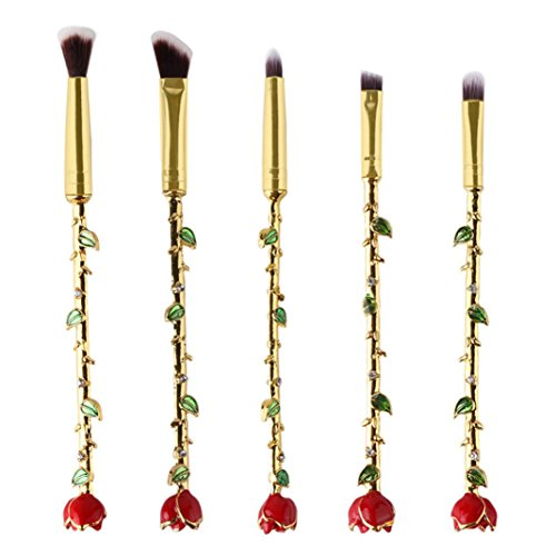 Professional Makeup Brush Cosmetics Brushes Set for Powder, Liquid, Cream, Eye Shadow, Eye Brow and Foundation by TOPUNDER