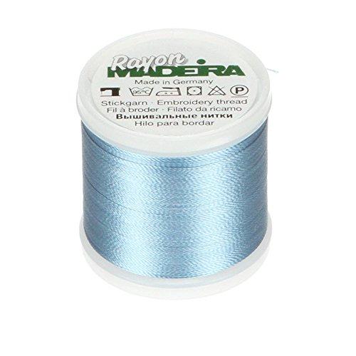 Tacony Corporation Madeira Rayon Thread Size 40 200 Meters-Medium Pastel Blue