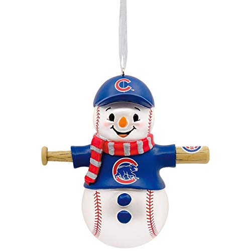 (Hallmark MLB Chicago Cubs Snowman Ornament Sports & Activities,City & State)