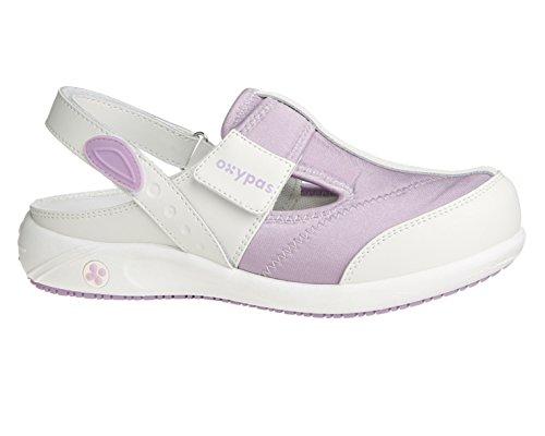 Oxypas Anais, shoes Femme - Blanc (lic), 41 EU