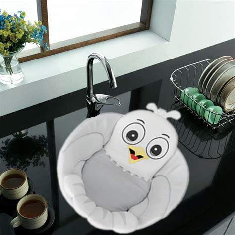 Baby Bath Cushion Sink Bather, Soft Quick Drying Bathtub Mat for Infant Bathing Tub Seat Support, Machine Washable for 0-12 Months Newborn, BPA Free(American Eagle) (Baby Tub Owl)
