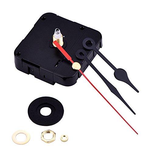 High Torque Clock Mechanism Movement, 6/ 25 Inch Maximum Dial Thickness,...