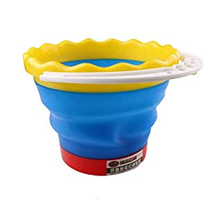Multifunction Folding Scalable Telescopic Brush Washing Bucket