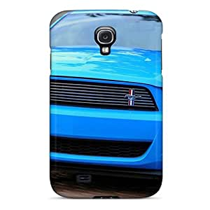 Hard Plastic Galaxy S4 Case Back Cover,hot Ford Mustang V6 2011 Case At Perfect Diy