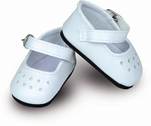 Petitcollin - Zapatos con bridas de color blanco - 34 cm - 603402