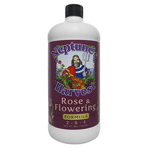 Neptune's Harvest RF 136 RF136 Rose & Flowering Formula 2-6-4, 36 oz
