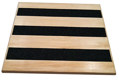 Calf Stretcher Balance Board with Variable Incline Slant - Foot Rocker Leg Exerciser Great for Physical Therapy Clinics, Stretching Equipment, Running, Plantar Fasciitis, Balancing & Personal Trainers