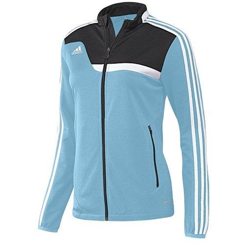 - Adidas Womens Climacool Tiro 13 Training Jacket Large Blue/Black/White