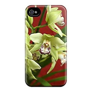 New Cute Funny Green Cymbidium Cases Covers/ Iphone 6 Cases Covers