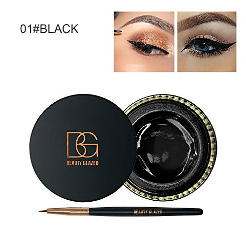 Colorful Mattte Eyeliner Gel Set Eye Liner Creamy 6 Color Yellow Red Black White Eyeline Eye Makeup Cosmetics color 1 ()