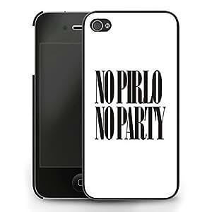 No Pirlo No Party iPhone 5c Case - Black by ruishername