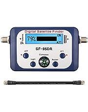 ELEGIANT DIGITAL SATFINDER, LCD Display Satfinder Messgerät digital mit LCD-Display mit Satellitenerkennung und Kompass
