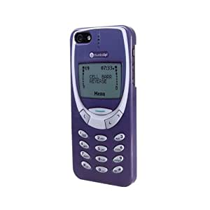 Thumbs Up UK Retro Phone Case for iPhone 5 - Retail Packaging - Purple